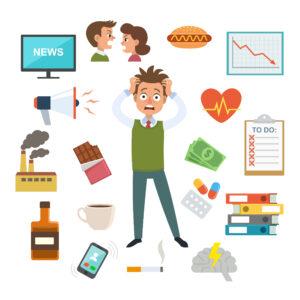 stress ger viktuppgång